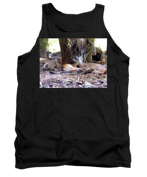 4 Wild Deer Tank Top