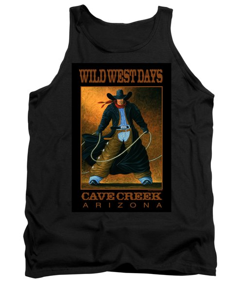 Wild West Days Poster/print  Tank Top