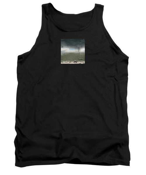 Tank Top featuring the photograph 4375 by Peter Holme III