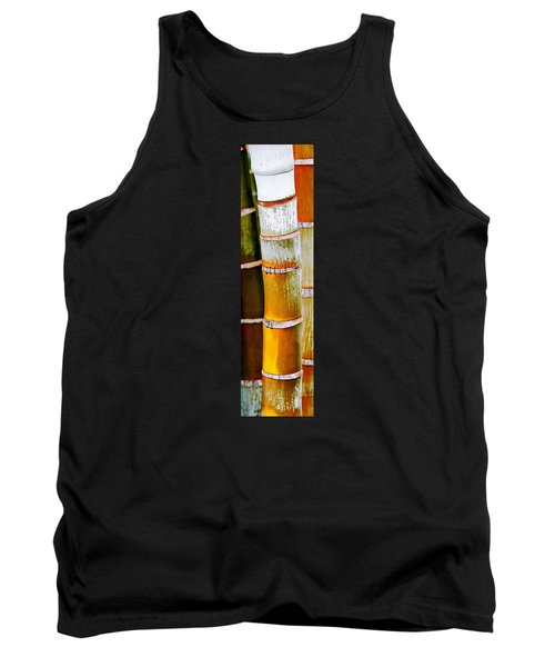 Bamboo Palm Tank Top by Werner Lehmann