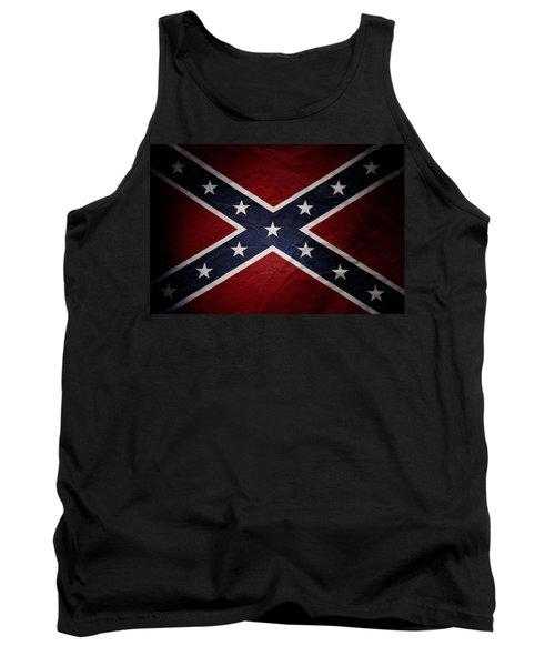 Confederate Flag 8 Tank Top