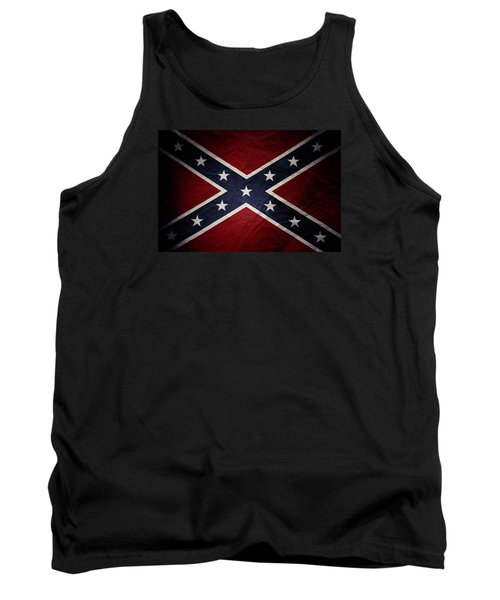 Confederate Flag 8 Tank Top
