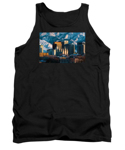 Salt Lake City Utah Usa Tank Top