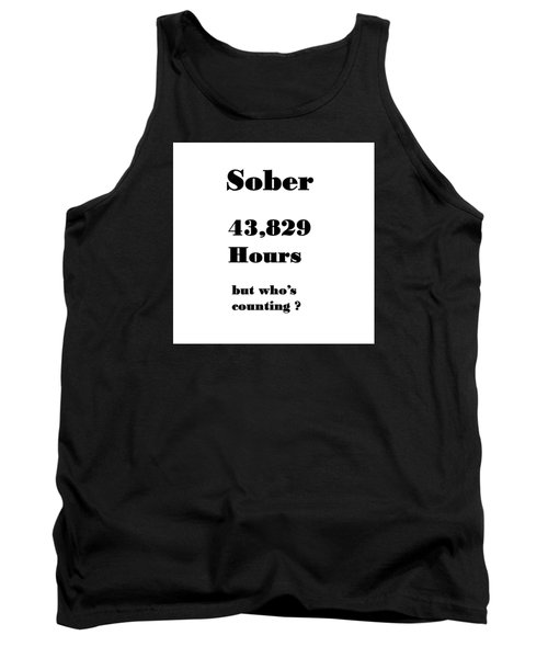 5 Years Sober Tank Top