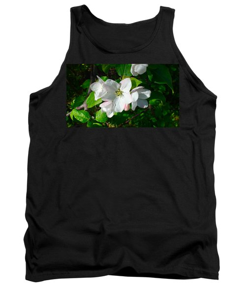 Apple Blossoms Tank Top by Johanna Bruwer