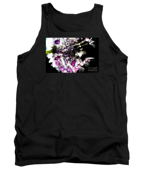 Crystal Flower Tank Top by Sylvie Leandre