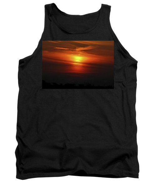 Tank Top featuring the photograph 7- Sunset by Joseph Keane