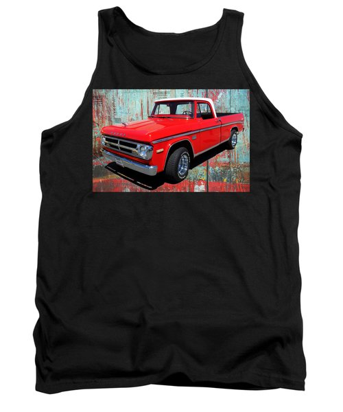 '70 Dodge Truck Tank Top by Victor Montgomery