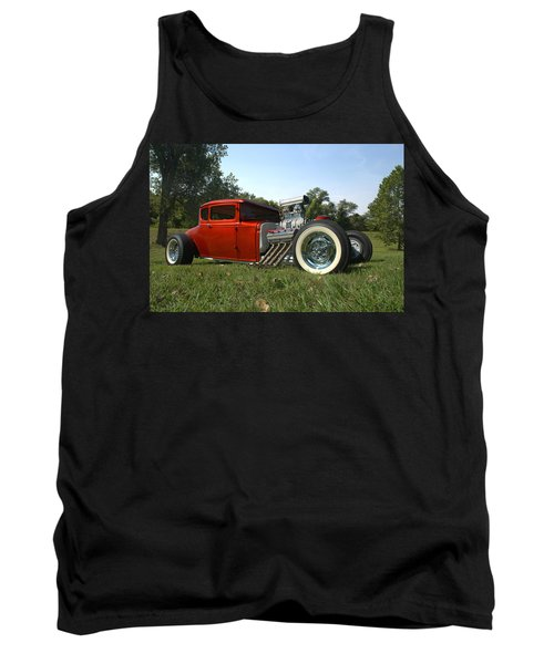 1930 Ford Coupe Hot Rod Tank Top