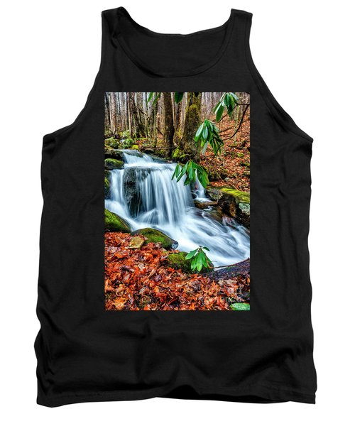 Tank Top featuring the photograph Little Laurel Branch by Thomas R Fletcher