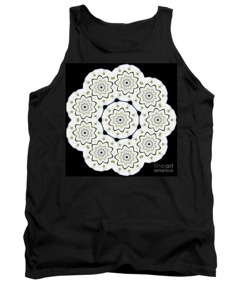 9-pointed Orchid Star Tank Top