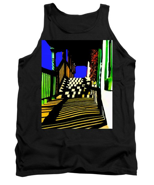 Streets Of Taos Tank Top
