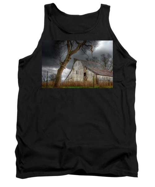 A Barn In The Storm 2 Tank Top by Karen McKenzie McAdoo