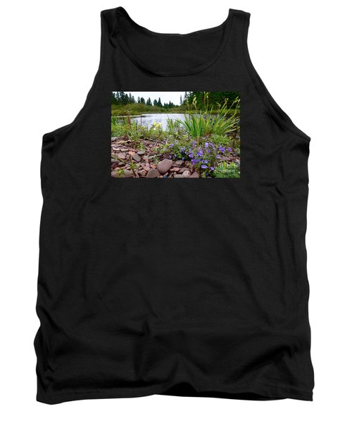 Tank Top featuring the photograph A Beautiful Rainy Day by Sandra Updyke