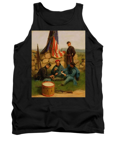 A Break Playing Cards Tank Top