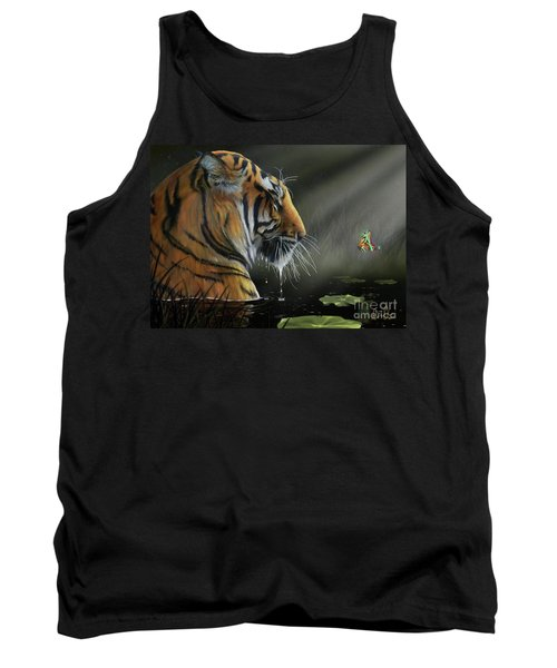 Tank Top featuring the digital art A Chance Encounter II by Don Olea