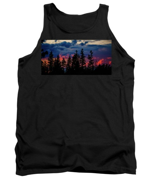 A Chance Of Thundershowers Tank Top by Albert Seger