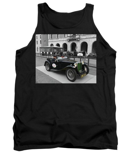 A Classic Vintage British Mg Car Tank Top