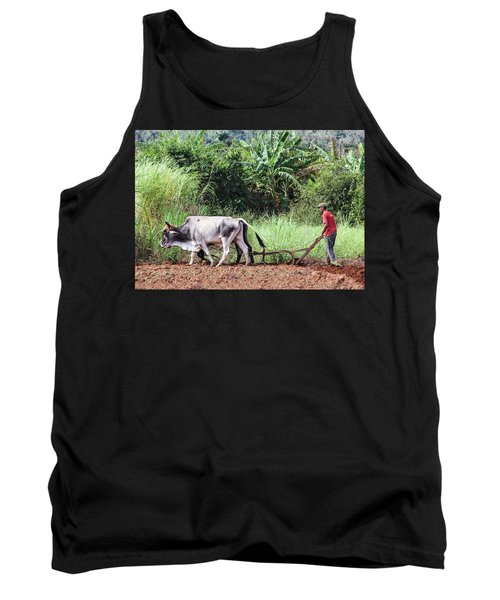 A Cuban Tractor Tank Top
