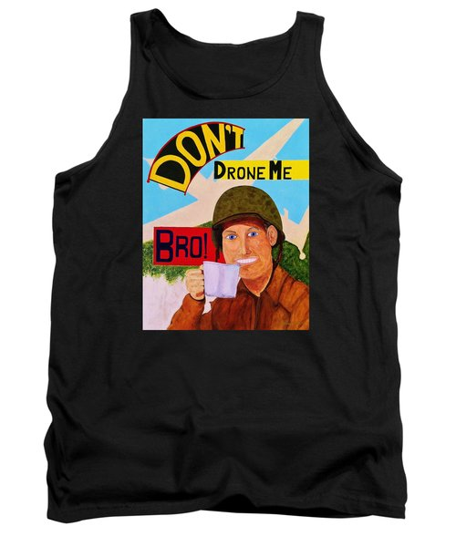 Tank Top featuring the painting A Cup Of Joe by Rand Swift
