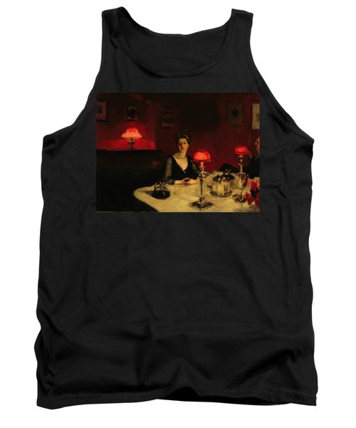 A Dinner Table At Night Tank Top