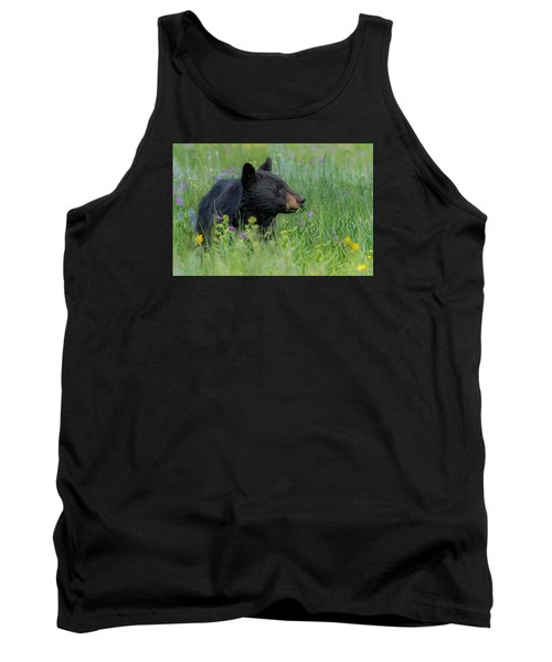 Tank Top featuring the photograph A Field Of Dreams by Yeates Photography