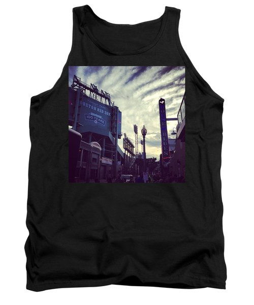 A Fine Night Is Upon Us #beantown Tank Top