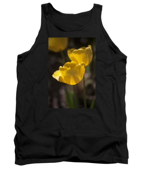 A Happy Spring Moment Tank Top by Morris  McClung