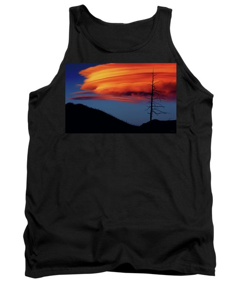 A Haunting Sunset Tank Top
