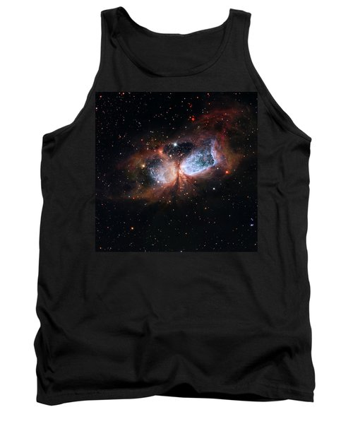 Tank Top featuring the photograph A Composite Image Of The Swan by Nasa