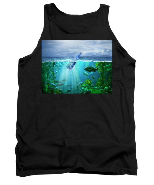 A Message In A Bottle Tank Top