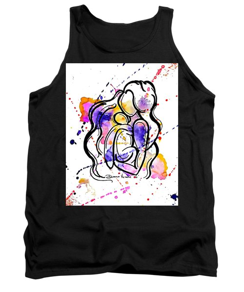 A Mother's Love Tank Top by Diamin Nicole