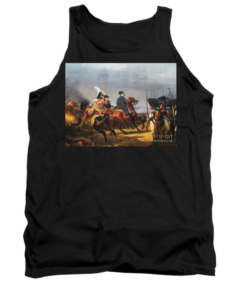 A Napoleonic War At Versailles Tank Top by Al Bourassa