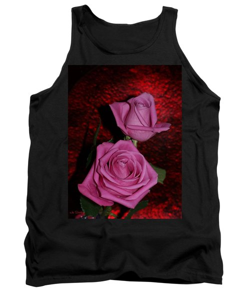 A Pair Of Pink Roses Tank Top