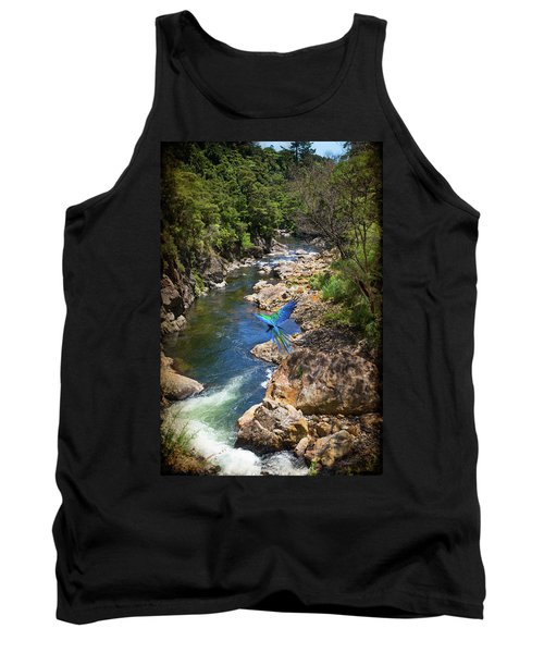 A Parrot In A New Zealand Gorge Tank Top