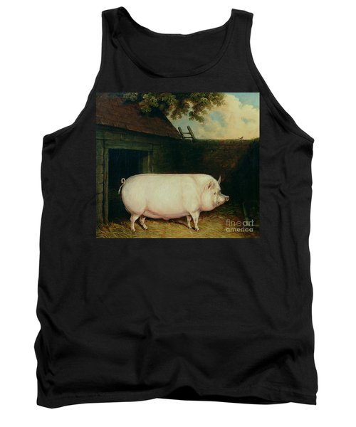 A Pig In Its Sty Tank Top