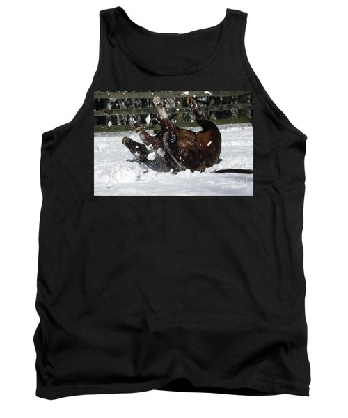 A Roll In The Snow Tank Top by Nicki McManus