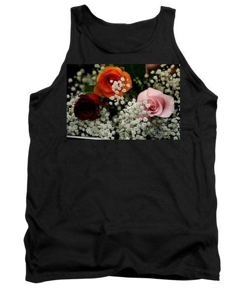 A Rose To You Tank Top