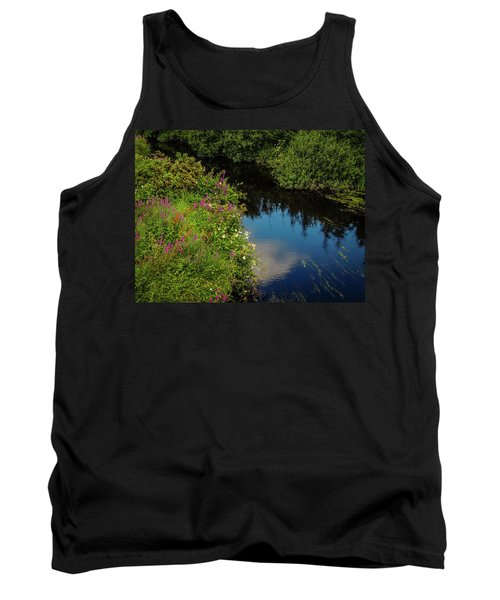 Tank Top featuring the photograph A Serene Scene In The Magical Irish Countryside by James Truett
