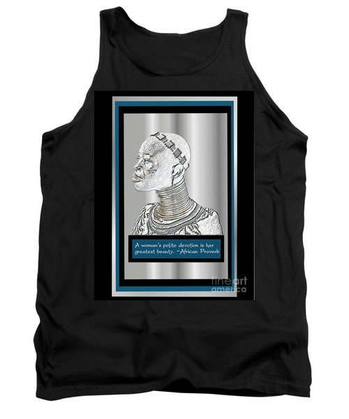 Tank Top featuring the digital art A Sisters Portrait 2 by Jacqueline Lloyd