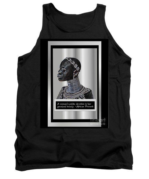 Tank Top featuring the digital art A Sisters Portrait by Jacqueline Lloyd