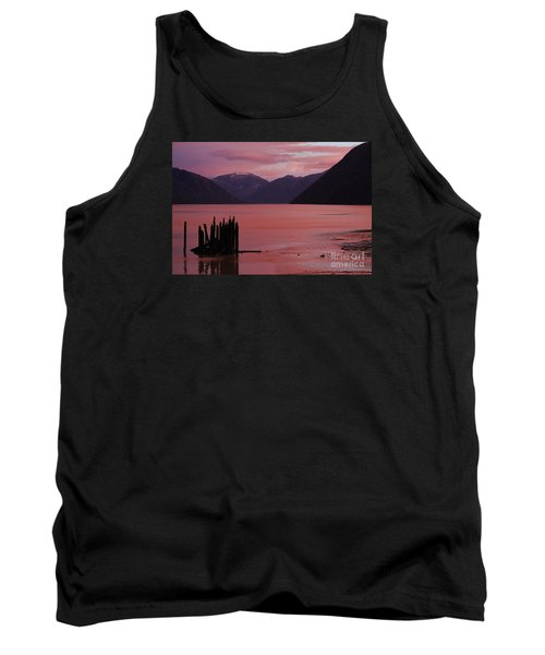 A Sublime September Sunset Tank Top by Stanza Widen