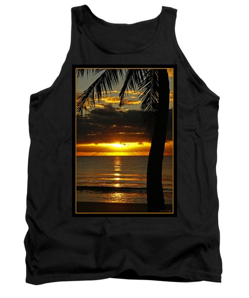 A Touch Of Paradise Tank Top by Holly Kempe
