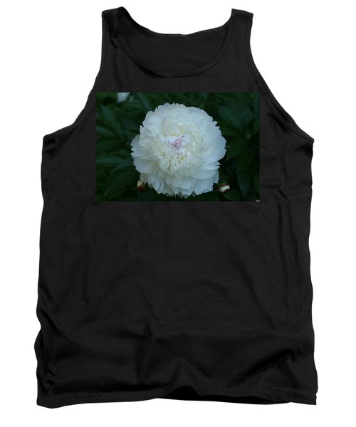 Tank Top featuring the digital art A Touch Of Pink by Barbara S Nickerson