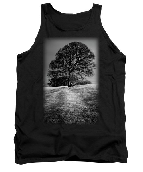 A Tree Shaped By The Wind Tank Top
