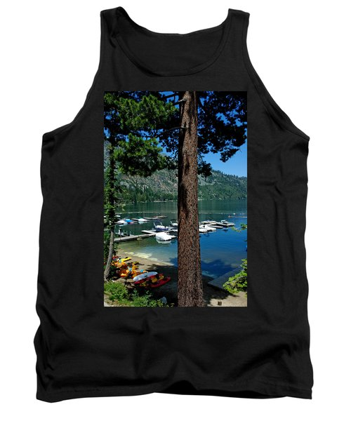 A Trees View Of Fallen Leaf Lake Tank Top
