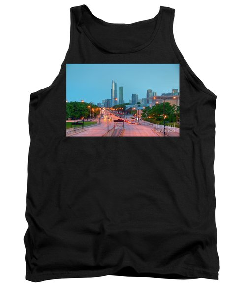 A View Of Columbus Drive In Chicago Tank Top