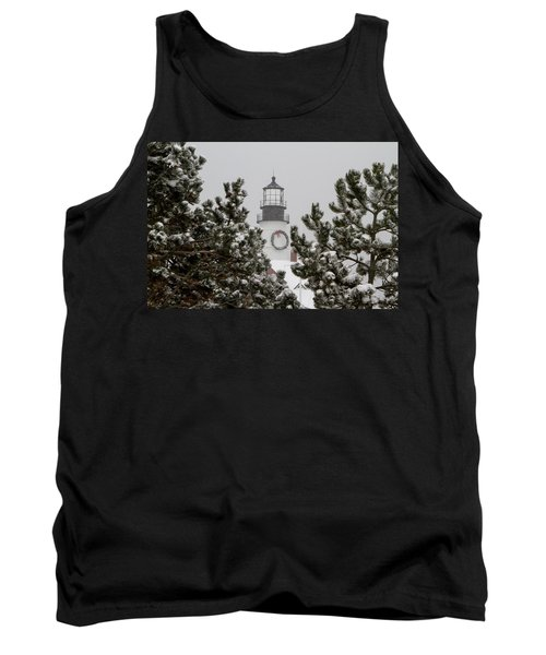 A View Of The Portland Head Light Tank Top