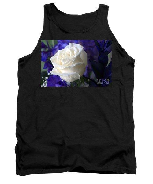A White Rose Tank Top