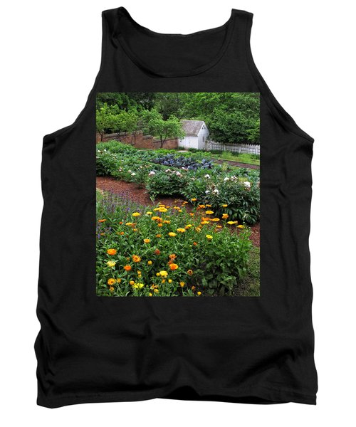 A Williamsburg Garden Tank Top